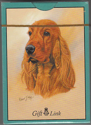 Playing Cards, Cocker Spaniel by Gift Link, New in Cello