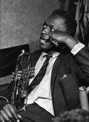 8x10 Print Miles Davis American Jazz Trumpeter Bandleader 1958 #MD09