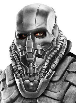 of Steel General Zod Maske aus Latex Kostüm Zubehör (General Zod Maske)