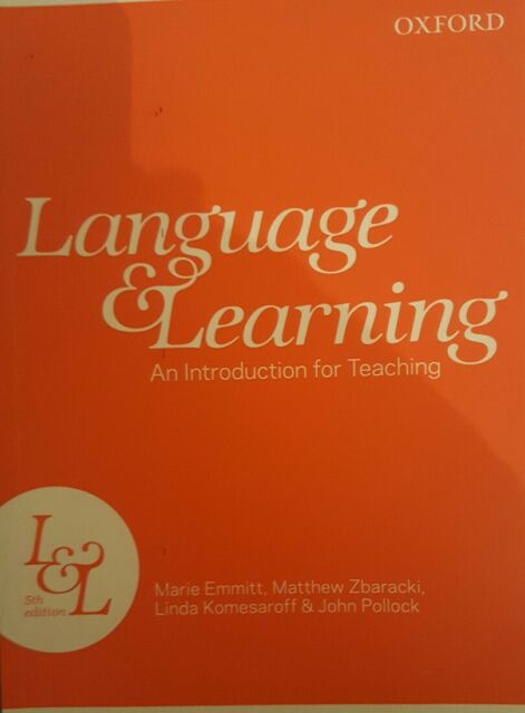 Language and Teaching: An Introduction for Teaching by Linda R. Komesaroff, Mar…