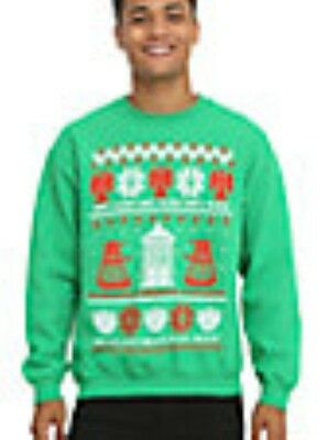 Doctor Who Ugly Sweater (Doctor Who Dr. Don't Blink Ugly Holiday Christmas Sweater Size Small NWT)