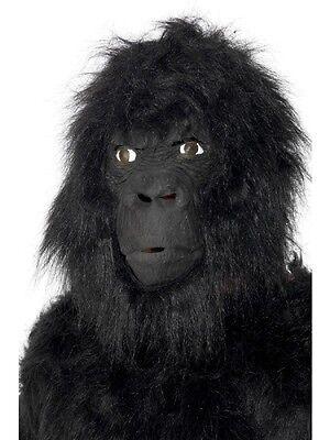 Maske Karneval Gorilla King Kong Affe Tier Accessoire - King Kong Maske