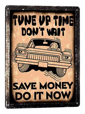 Older Wiser Speed Shop Retro Metal Ad Tin Sign Hot Rod Auto Garage Picture Gift