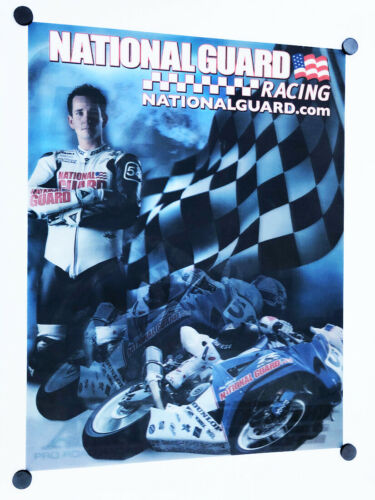 Michael Jordan Motorsports Suzuki Superbike GSXR 1000 Poster AMA Racing Hologram