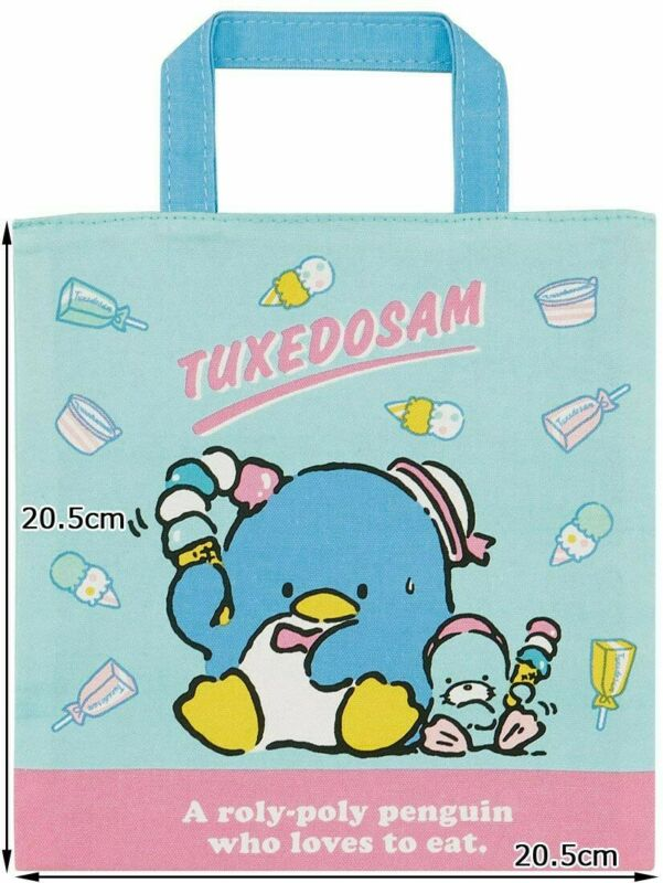 Tuxedo Sam Small Tote/Lunch bag Sanrio Skater Brand *NEW/Tags*