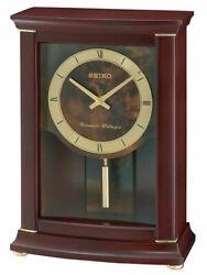 Seiko QXQ033BLH Japanese Quartz Shelf Clock