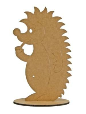 1 MDF Igel 34 cm hoch Dekofigur Tiere Hedgehog IGEL 8602-54
