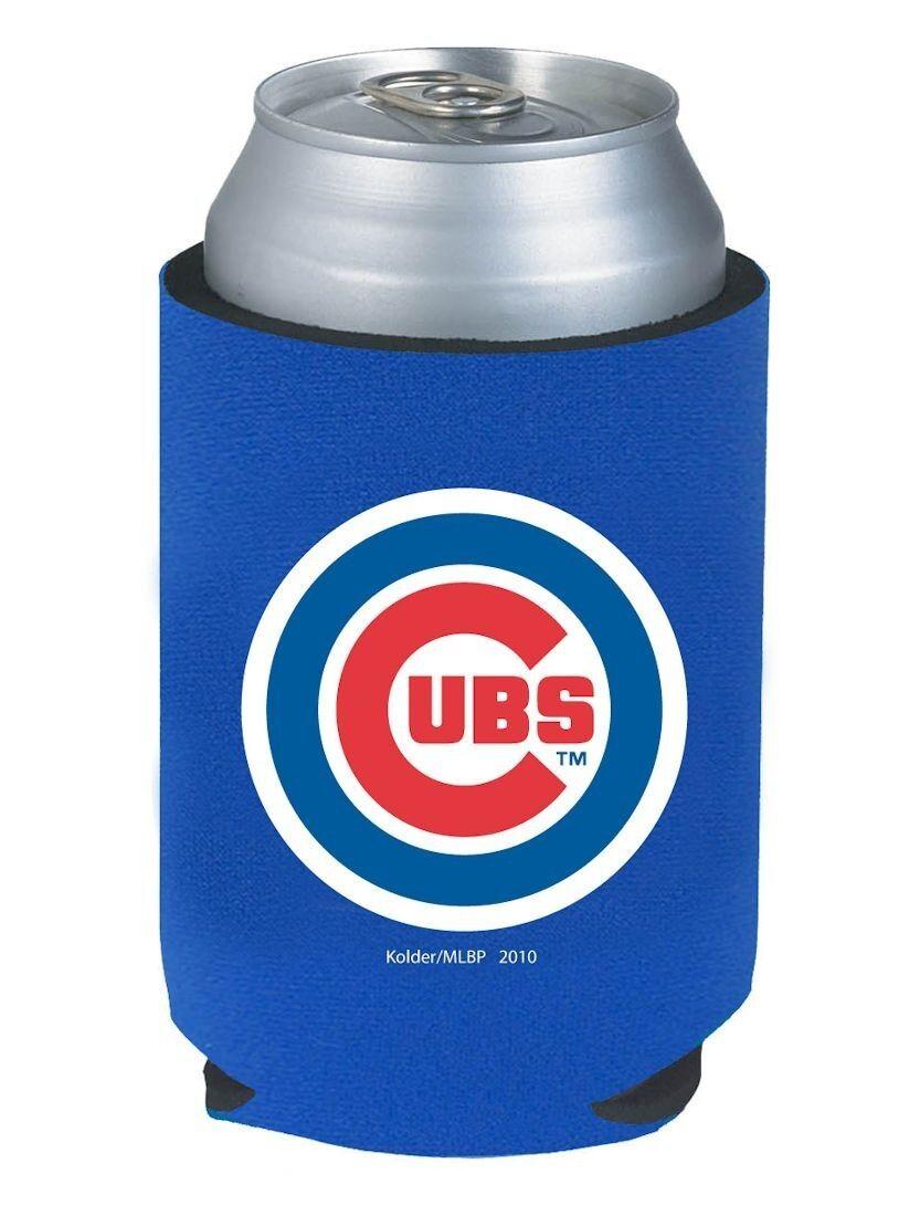 Chicago Cubs Beer Soda Can Or Bottle Kaddy Koozie Holder Mlb Baseball Ebay