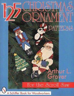 125 Christmas Ornament Patterns for the Scroll Saw, New! Free Shipping! - Free Christmas Ornament Patterns