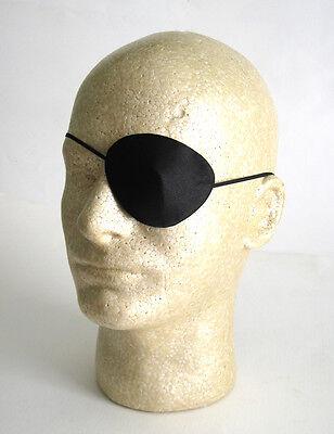 Deluxe Silk Pirate Eye Patch Evil Villian Easy Mens Adult Halloween Costume (Easy Halloween Mask)