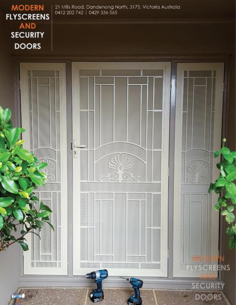 MODERN FLY-SCREENS AND SECURITY DOORS | Building Materials | Gumtree Australia Greater Dandenong - Dandenong | 1166359747 & Security Doors Dandenong \u0026 Aluminium Security Door