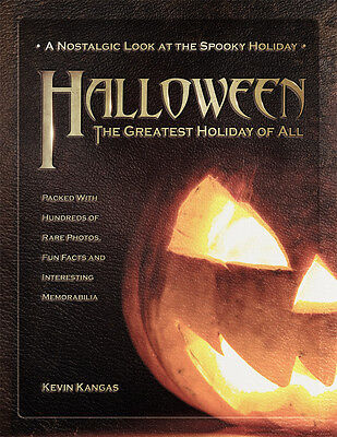 Halloween The Greatest Holiday Book NEW SRP $40 Vintage Ads Costumes Pumpkins