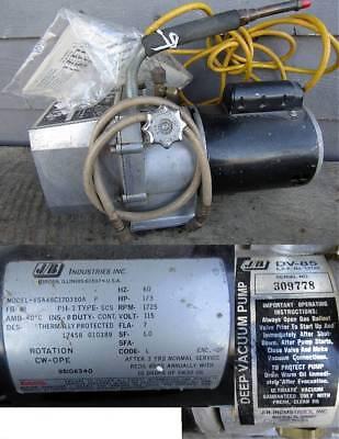 Jb Industries Dv-85 13h.p. Deep Vacuum Pump