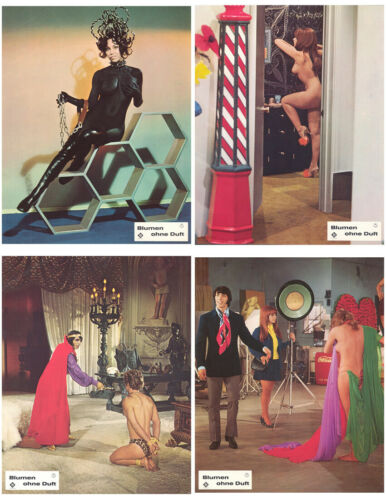 BEYOND THE VALLY OF THE DOLLS (1970) Original German Lobby Card Set (15 CARDS)