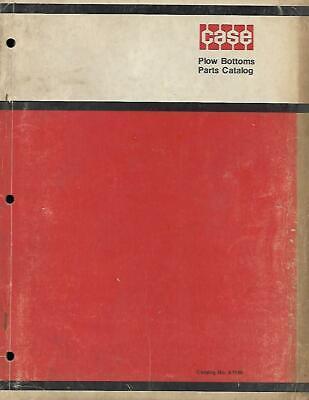Case Plow Bottoms Parts Catalog