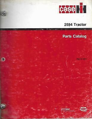 Case Ih 2594 Tractor Parts Catalog