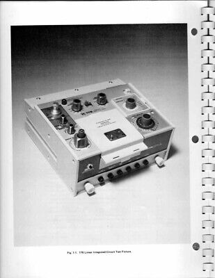 Instruction Manual For The Tektronix 178 Linear Ic Adapter For 577 Curve Tracer