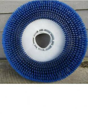New 19 Floor Buffer Scrubber Blue Bristle Brush Driver Pad