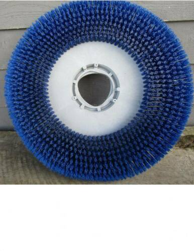 "NEW 19"" FLOOR BUFFER SCRUBBER BLUE BRISTLE BRUSH DRIVER PAD"