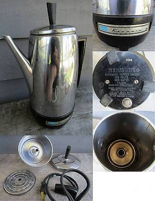 VINTAGE SEARS KENMORE AUTOMATIC COFFEE MAKER -- clean !
