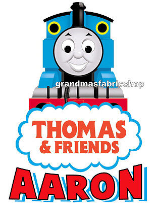 Thomas The Train Gifts (Thomas the Train Personalized Custom T Shirt Party Favor Birthday Gift)
