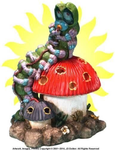 Caterpillar Alice Wonderland Magic Mushrooms Electric Lamp Night Light #2950 USA