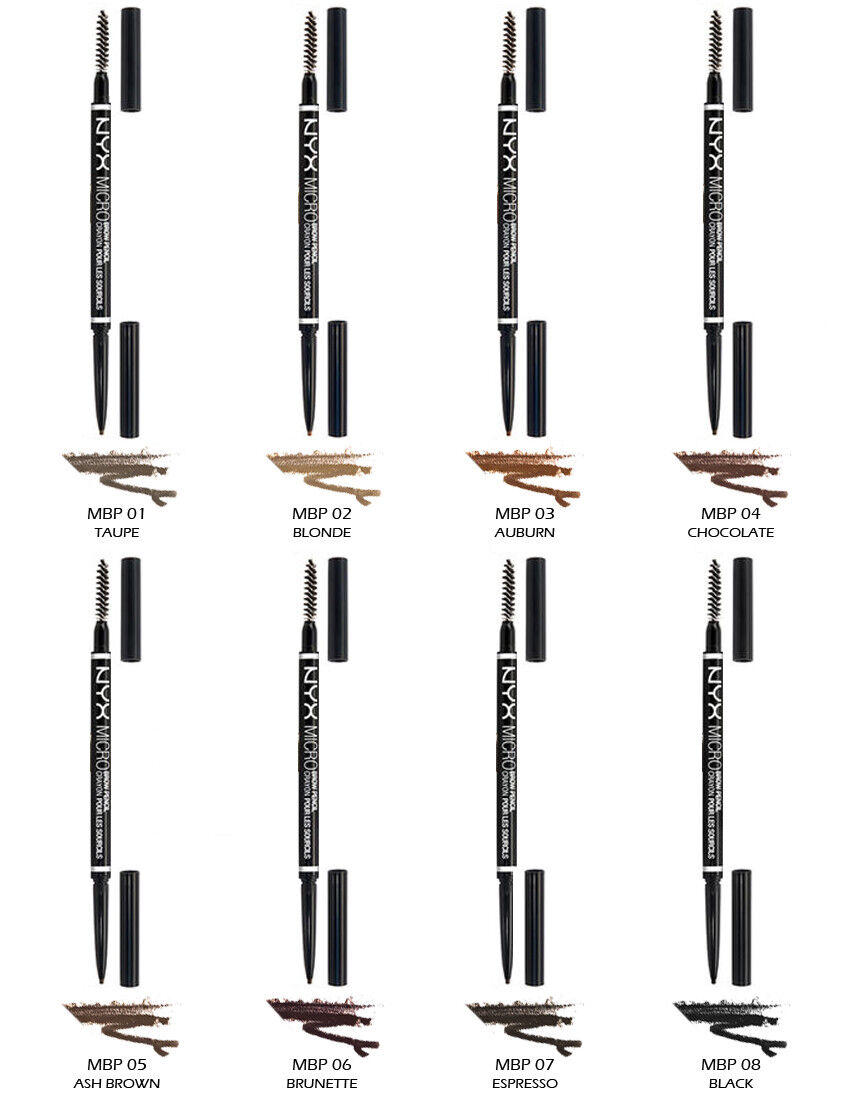 "1 NYX Micro Brow Pencil - Eyebrow ""Pick Your 1 Color"" * Joy'"