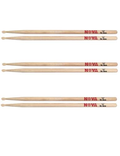 Vic Firth Nova 5a Drum Sticks 3 pairs UPC 750795010127