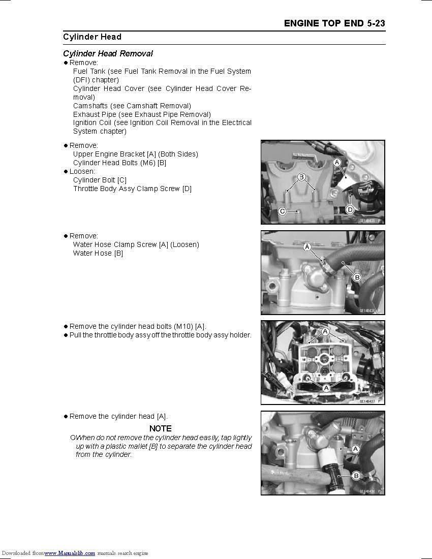 ... Kawasaki service workshop manual 2012, 2013 & 2014 KX450F 11 of 12 ...