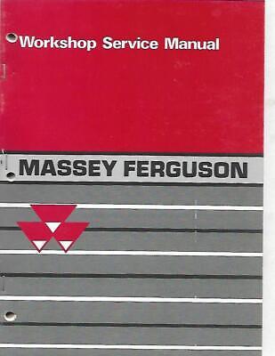Massey-ferguson Mf Compact Tractors Mf 205210 And 220 Workshop Service Manual
