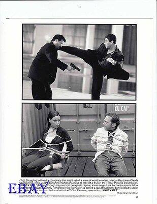 Lela Rochon bound w/rope Rob Schneider VNTAGE Ph Jean Claude Van Damme Knock Off