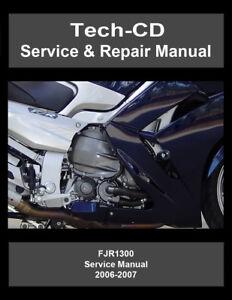 Yamaha FJR1300 Service & Repair Manual FJR 1300 2006 2007