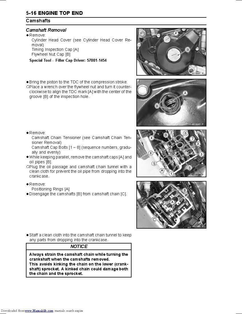 ... Kawasaki service workshop manual 2012, 2013 & 2014 KX450F 4 of 12 ...