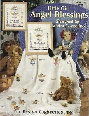 Angel Blessings Little Girl Sandra Cozzolino Designs Cross Stitch Patterns NEW