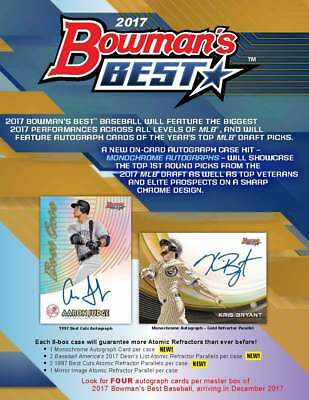 Jose Altuve   Houston Astros 2017 Bowmans Best 1 Case Player Break