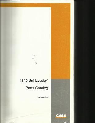 Case 1840 Uni-loader Parts Catalog Nice