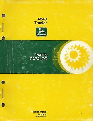 John Deere 4840 Tractor Parts Catalog
