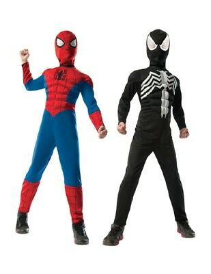 Boy's Deluxe Reversible Spider-Man Costume