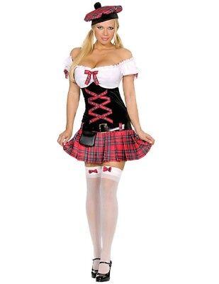 Scottish Girl Costume (Women's Scottish Girl Costume)
