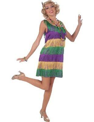 Women's Mardi Gras Flapper Costume](Mardi Gras Costumes Women)