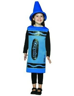 Crayola Blue Crayon Child Costume (Blue Crayon Costume)