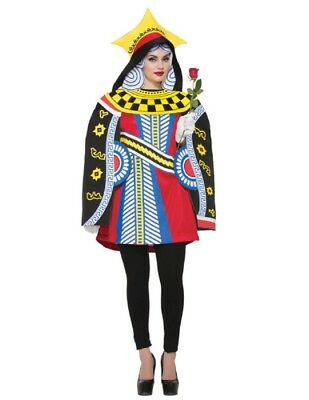 Women's Queen Of Cards Costume - Queen Of Cards Costume