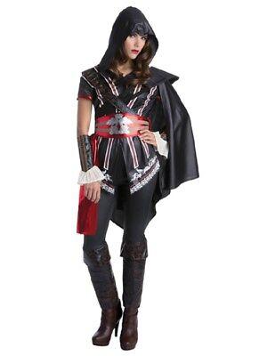 Women's Assassins Creed Ezio Auditore Costume - Ezio Black Costume