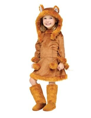 Fox Costume Girl (Girl's Sweet Fox Costume)