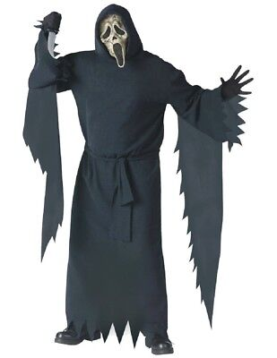 Adult Scream Ghost Face Costume](Adult Ghost Costumes)