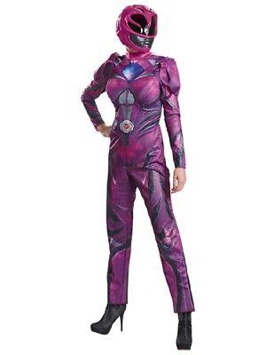 Women's Pink Power Ranger Muscle Costume - Power Ranger Costumes For Women