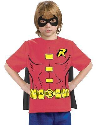 Robin Child T-Shirt Costume](Kids Robin Shirt)