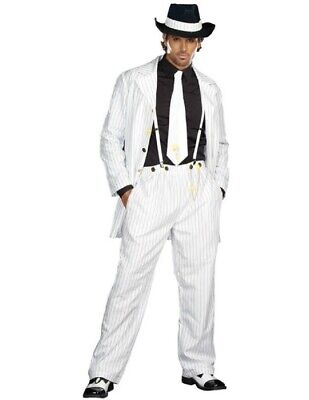 White Zoot Suit Costume (Men's Zoot Suit)