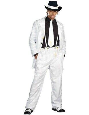 White Zoot Suit Costume (Men's Zoot Suit)