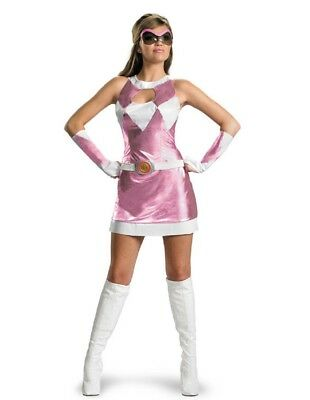 Women's Pink Power Ranger Costume - Power Ranger Costumes Pink